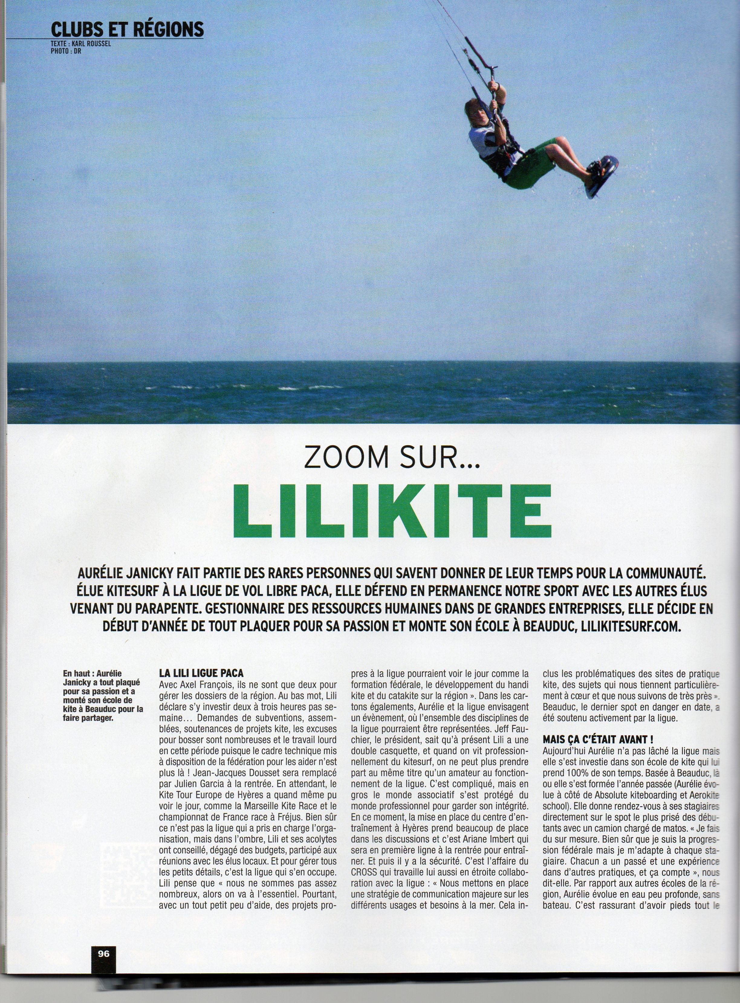 Zoom sur ... Lilikite